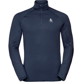 Odlo Carve Light Half Zip Midlayer Men diving navy
